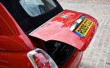 Fiat 500C bootlid