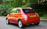 Fiat 500C rear quarter