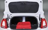 Fiat 500C boot space