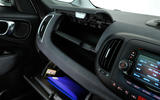 Fiat 500L glovebox
