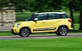 Fiat 500L Trekking side profile