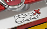 Fiat 500X badging