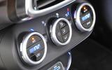 Fiat 500X climate controls