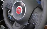 Fiat 500X steering wheel