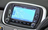 Fiat 500X Uconnect infotainment system