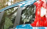 Fiat Panda rear windows