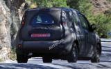 New Fiat Panda spied testing