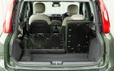 Fiat Panda 4x4 boot space