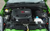 Two-cylinder Fiat Punto engine
