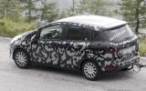 Ford's B-Max spied testing