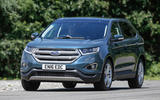 Ford Edge cornering