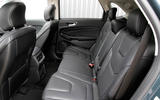 Ford Edge rear seats