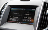 Ford Edge Sync2 infotainment