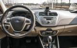 Ford Escort dashboard