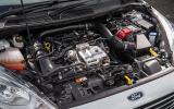 Ford Fiesta engine bay