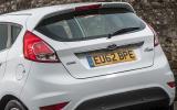 Ford Fiesta rear end