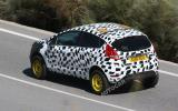 Ford Fiesta spin-off spied