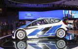 Paris motor show: Ford's new Fiesta WRC