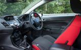Ford Fiesta Black Edition interior