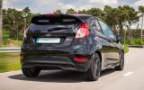 16in alloy Ford Fiesta Black
