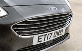 Ford Fiesta chrome front grille