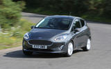 Ford Fiesta cornering