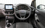 Ford Fiesta dashboard