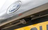 Ford Fiesta rear view camera
