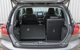 Ford Fiesta seating flexibility