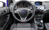 Ford Fiesta ST dashboard