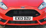 Ford Fiesta ST front grille