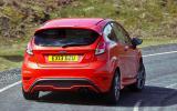 Ford Fiesta ST rear cornering
