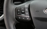 Ford Fiesta steering wheel controls