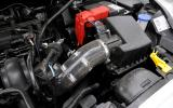 Fiesta Zetec S Mountune engine