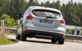 Ford Focus facelift - development ride