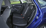 A look at the rear seats in the Ford Focus