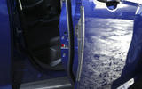 Clever door protectors prevent dents in the Ford Focus's doors