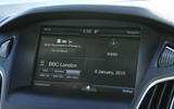 The infotainment system in the Ford Focus