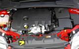 1.6-litre Ford Focus engine