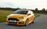 Ford Focus ST cornering