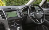 Ford Galaxy dashboard