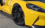 Ford GT black alloy wheels