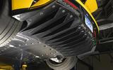 Ford GT rear diffuser