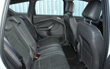 Ford Kuga rear seats