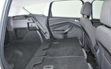 Ford Kuga rear seat flexibility