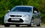Ford Mondeo cornering