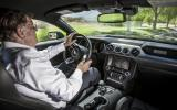 Driving the Ford Mustang