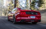 Ford Mustang rear end