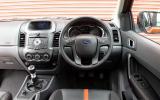 Ford Ranger dashboard