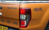 Ford Ranger rear lights